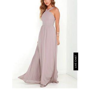 "BNWT Lulu's ""Air of Romance"" Bridesmaids Dress, L"